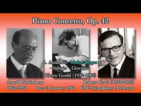 Schönberg: Piano Concerto, Gould & Craft (1961) シェーンベルク ピアノ協奏曲 グールド