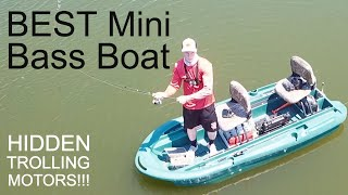 BEST Mini Bass Boat Review: CUSTOM Twin Troller X10 Tour