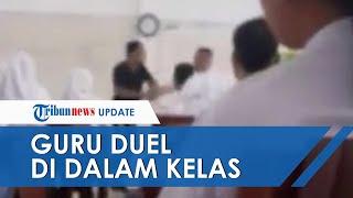 Viral Guru Adu Jotos Di Depan Murid-muridnya, Kepala Sekolah Jatuhkan Skors