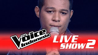 Mario G KlauMalaikatI Live Show 2 I The Voice Indonesia 2016