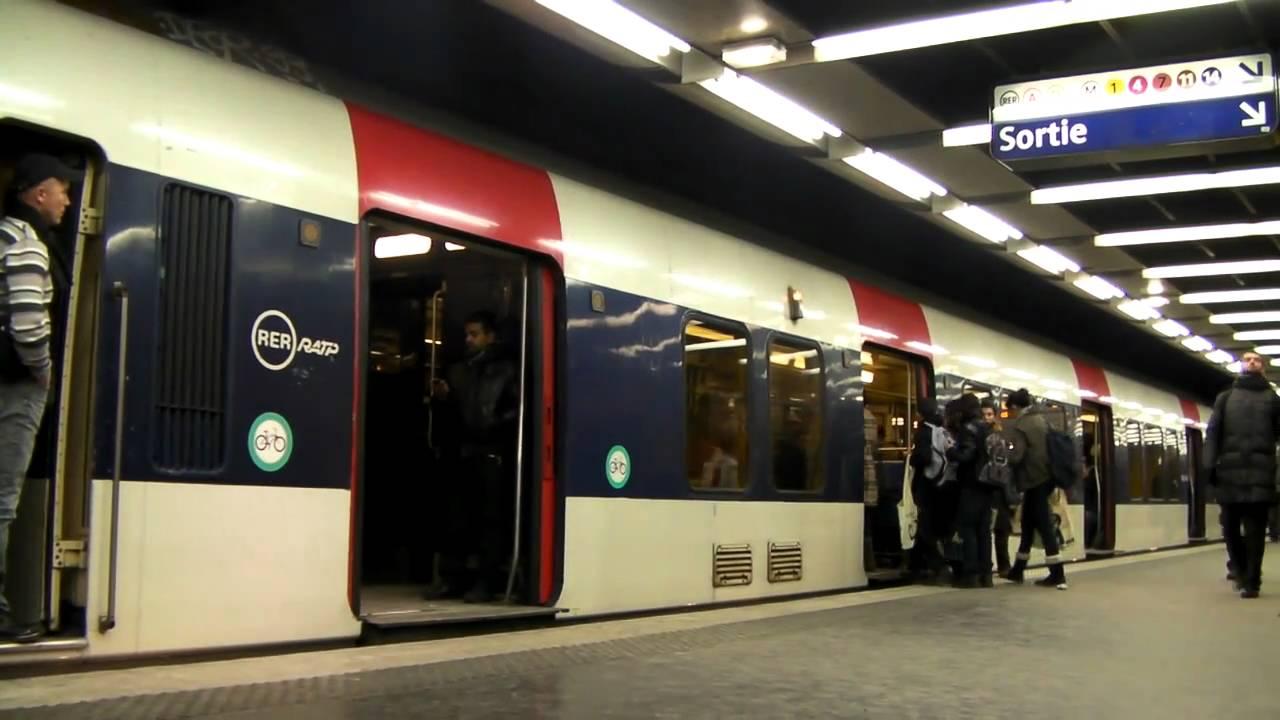 Paris rer b chatelet les halles youtube for La droguerie paris les halles