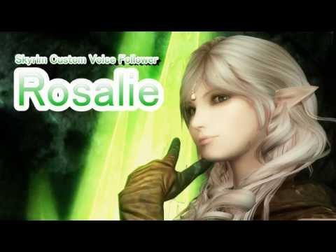 Skyrim Mod: Custom Voice Follower Rosalie - YouTube