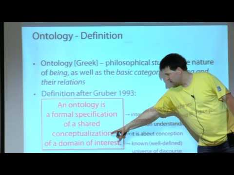 Lecture - 4 - The SemanticWeb Ontology Languages RDFS and OWL by Sven Groppe