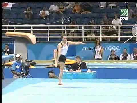 Paul Hamm (USA) - Floor AA @ Athens Olympic Games 2004