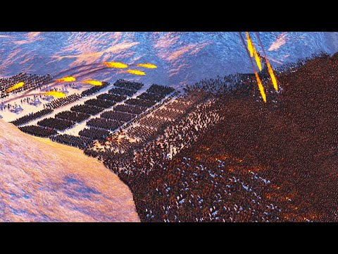 MASSIVE 20,000 STARK VS. LANNISTER GAME OF THRONES! SEVEN KINGDOMS TOTAL WAR BATTLE GAMEPLAY!