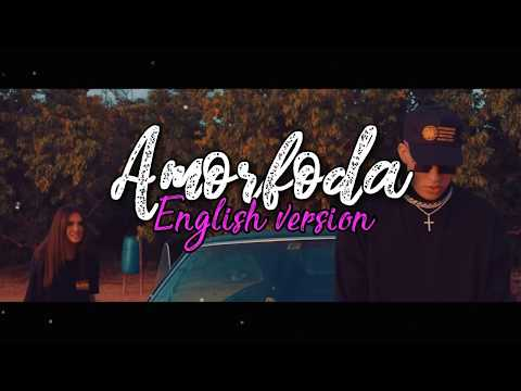 Amorfoda - Bad Bunny (English Version Letra) Sub Español