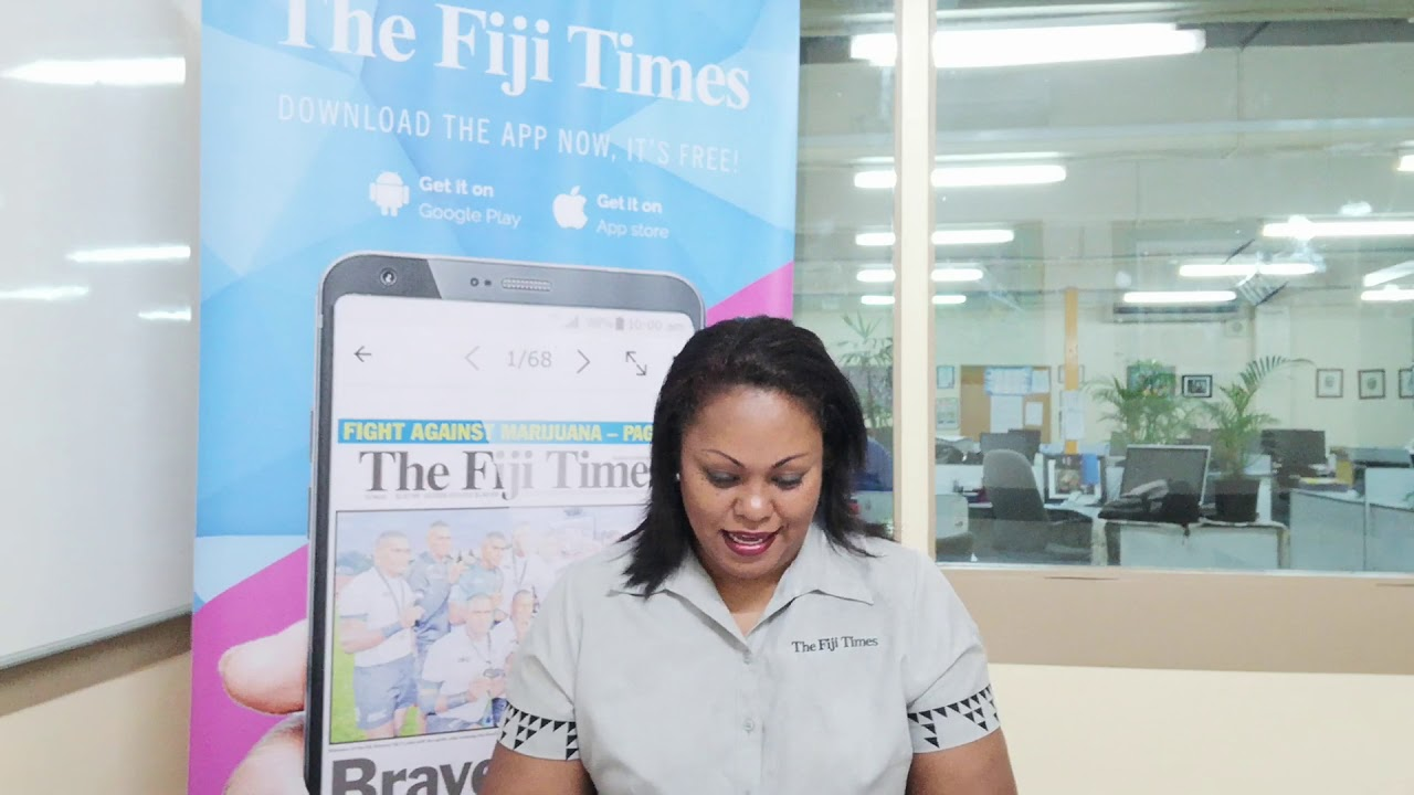 Fiji Times Headlines May 15, 2018