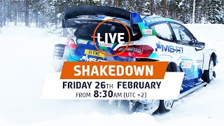 Shakedown LIVE! WRC Arctic Rally Finland 2021 Powered by CapitalBox