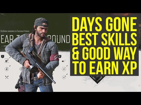 Days Gone Best Skills YOU WANT TO GET & Good Way To Earn XP (Days Gone Tips And Tricks) thumbnail