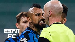 Inter Milan vs. Real Madrid reaction: Arturo Vidal's 'STUPID' red card costs Nerazzurri