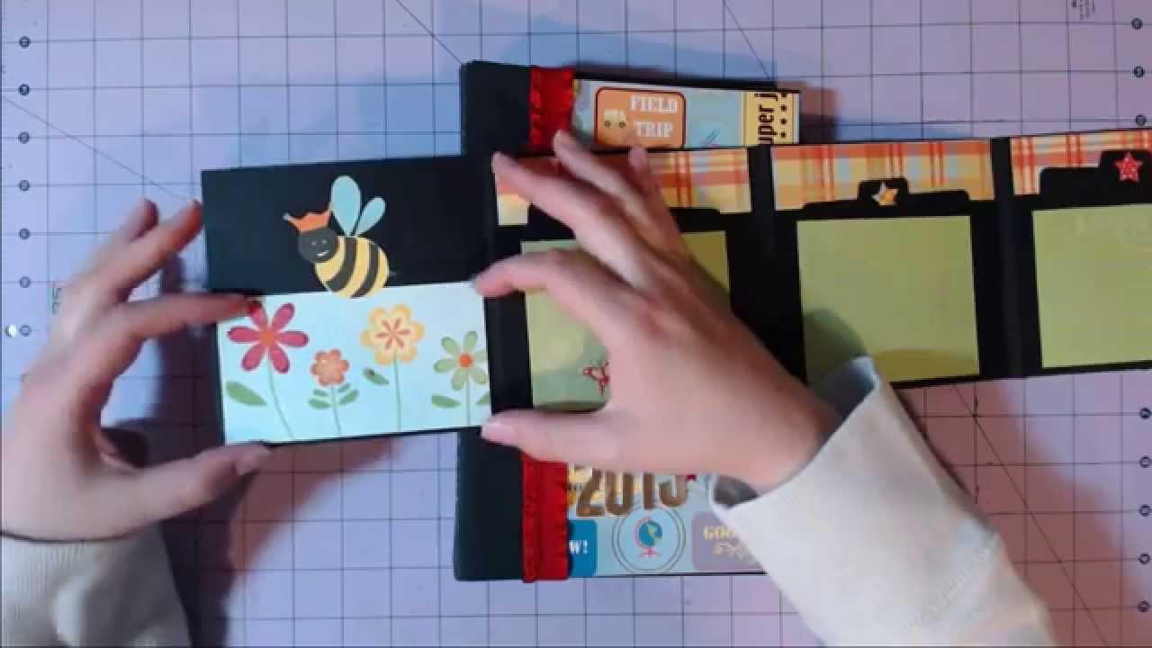 Best Teacher Premade Album Teacher Mini Scrapbook