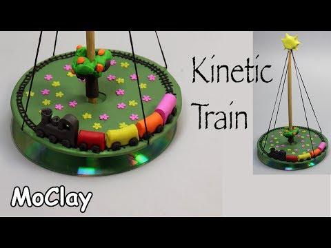 DIY Kinetic train - Polymer clay tutorial