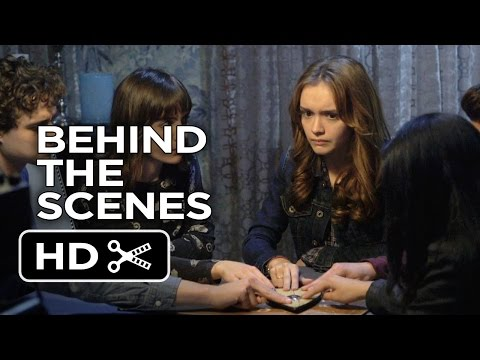 Ouija Behind The Scenes - Moving the Planchette (2014) - Olivia Cooke Horror Movie HD