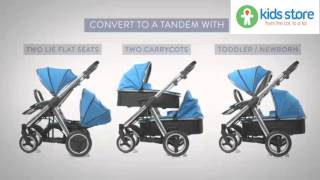 Babystyle Oyster Max & Tandem - Features and Benefits ( www.kidsstore.co.uk )