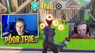 Symfuhny SHOCKED Whem Tfue Barely Loses Secret Skirmish