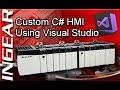 PLCGurus.NET - C# HMI - Introduction To Visual Studio and Ingear Drivers