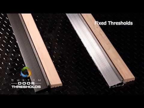 Fixed Door Threshold Youtube