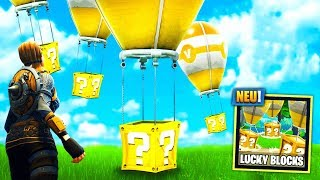 *NEU* LUCKY BLOCKS BATTLE Modus in FORTNITE!!