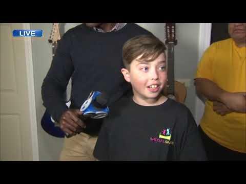 Lance Houston - Northbrook Boy Battling Leukemia Gets Dream Bedroom Makeover