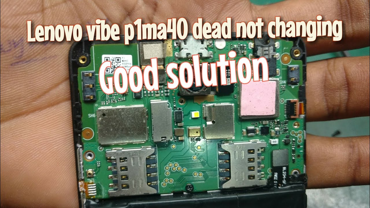 Lenovo P1ma40 Dead Charging Problem 10000 Working Youtube