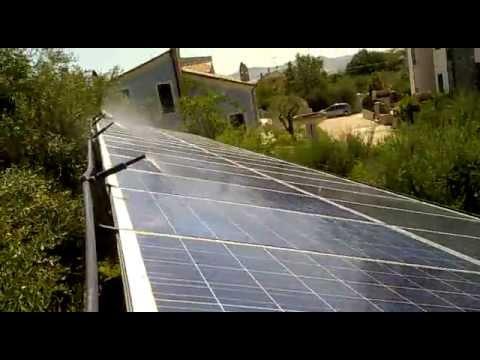 Pannelli Fotovoltaici Raffreddati Ad Acqua.Raffreddamento Pannelli Fotovoltaici Della Nostra Ditta Arredo Legno Ferro S A S