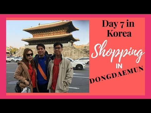 ACCESSORIES SHOPPING IN DONGDAEMUN (DAY 7 IN KOREA)