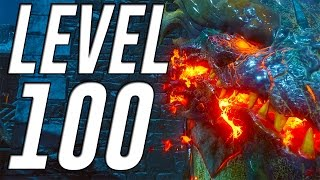 LEVEL 100 Grind on Der Eisendrache (Call of Duty Black Ops 3 Zombies)