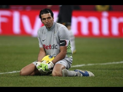 Gianluigi Buffon - Fails, Red Cards, Stupid, Angry And Funny Moments...