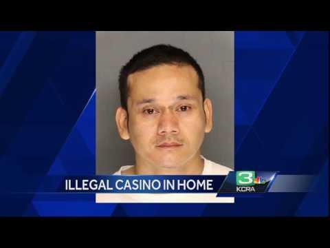 Illegal casino discovered in Stockton … home