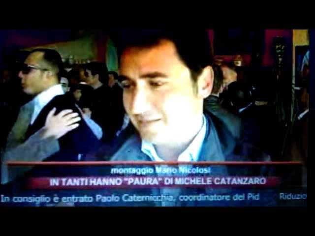 Perche' Michele Catanzaro è così temuto? Servizio di M.D'Antoni Rmk TV