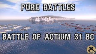 Battle of Actium 31 BC. Pure battle.