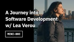 A journey into software development with Lea Verou