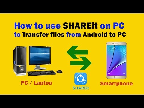How to use SHAREit on PC to Transfer Files from Android to PC via Wirelessly | Just Genius - jgytcv