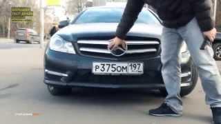 Обзор Mercedes-Benz C-class coupe.  Тест-драйв.