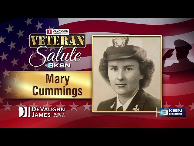 Veteran Salute: Mary Cummings