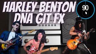 Harley Benton DNAfx Git Software - Tones in 90 sec