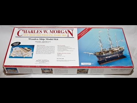 Model ShipWays Charles W. Morgan 1841 1:64 Wooden Ship Model kit