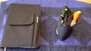 lihit lab smart fit a5 notebook cover and pen case review