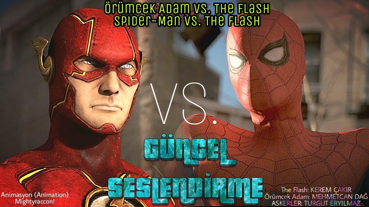 The Flash vs. Örümcek Adam - Animasyon / GÜNCEL SESLENDİRME