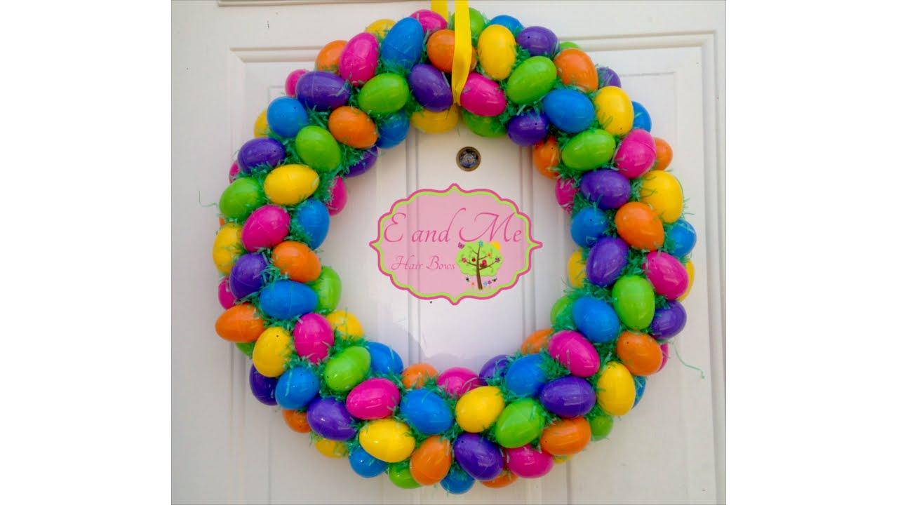 Easter Egg Wreath - YouTube