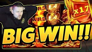BIG WIN!!! Dragons Fire BIG WIN - Online Slot from CasinoDaddy (Gambling)