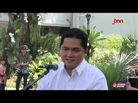 Erick Thohir Siap Bantu Kabinet Kerja Jokowi