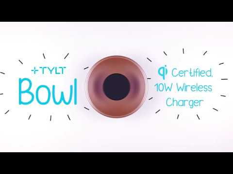 TYLT Bowl | Wireless Charging Pad + Valet