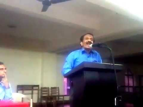 "Malayalam Speech on Human Rights  ""Stand up for Some ones human rights Today"""