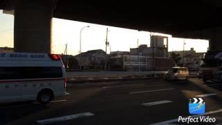 ドッキングポイントより神消東灘90と共に兵庫医大病院に向かうドクター...