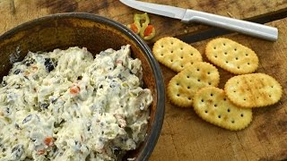 Olive Dip - Cream Cheese Appetizer | Radacutlery.com