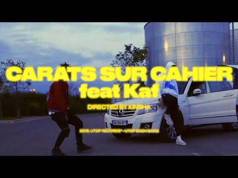 Youtube: Kinsha – Carats sur cahier (ft. Kaf)