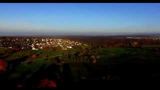 Marxzell Burbach aus der Luft mit Phantom 3 in 4k