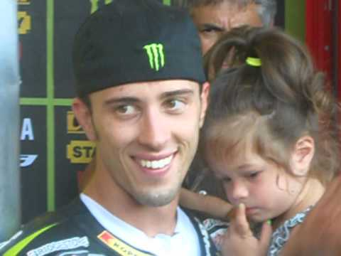 Andrea Dovizioso - After the race in Mugello 2012
