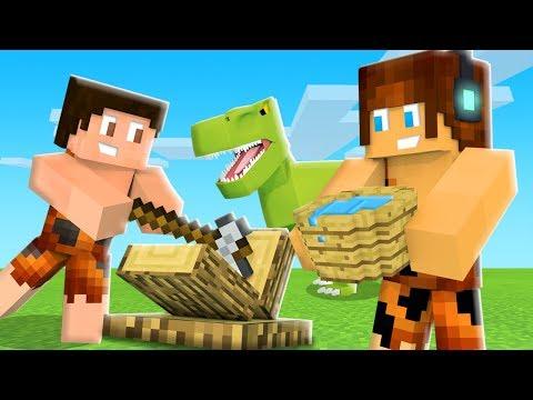 BALDE DE MADEIRA !! - Minecraft Dinossauros #05